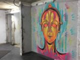 Peinture Christian Guemy - C215 - film Metropolis - Exposition Les Capucines de l'art