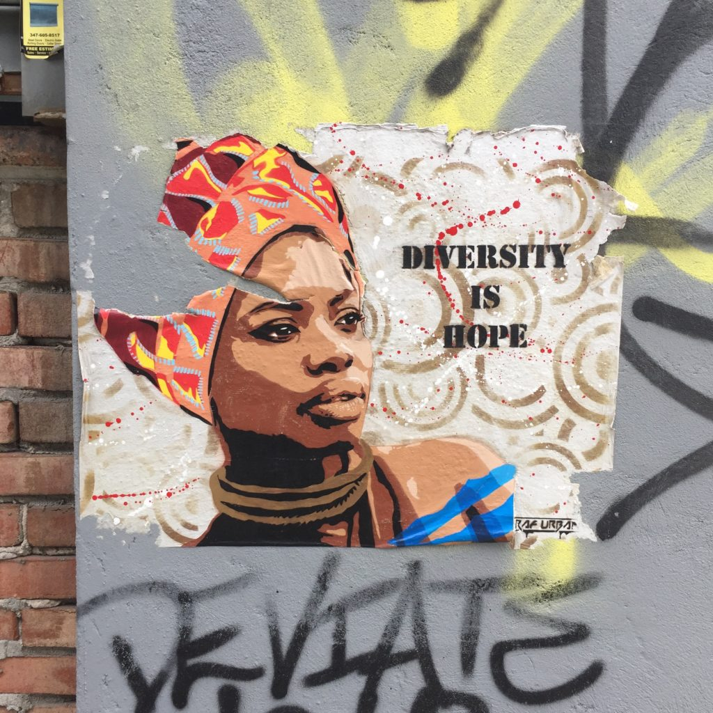 Diversity is Hope par Raf Urban