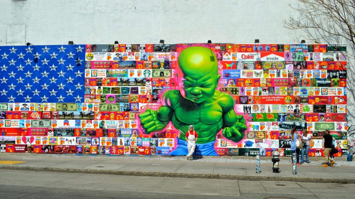 Histoire du Houston Bowery Wall à Manhattan ! Le mur iconique du monde du Street Art !