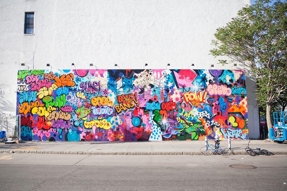 Houston Bowery Wall par COPE2